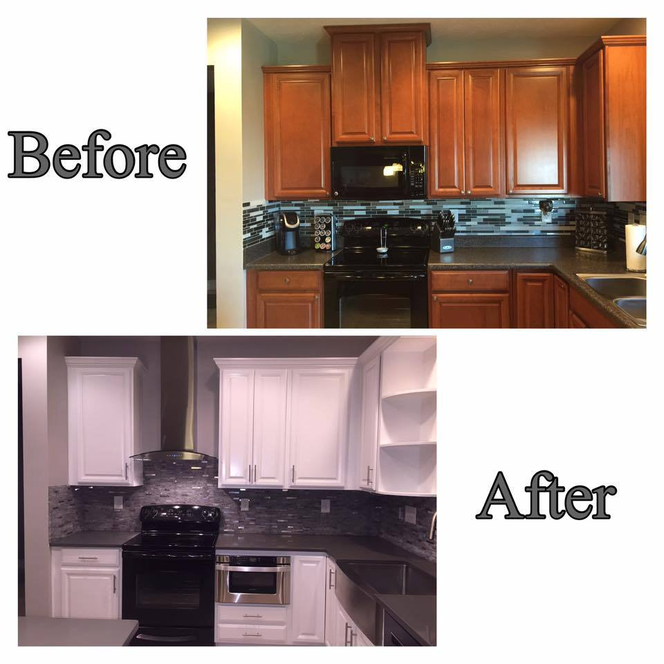 Miller Kitchen Before After